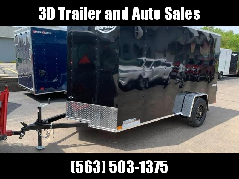 2020 Impact 6' x 12' x 6' Quake Enclosed Cargo Trailer