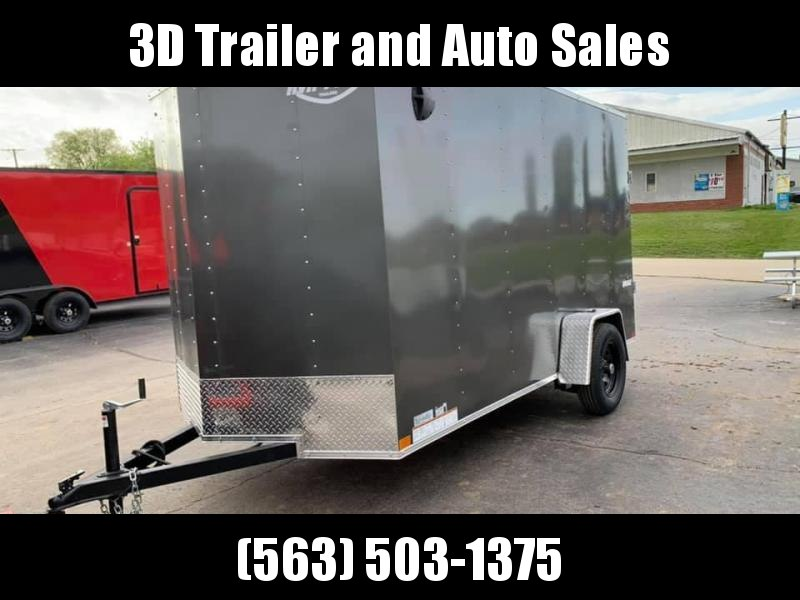 2020 Impact 6' x 12' x 6'6 Quake Enclosed Cargo Trailer