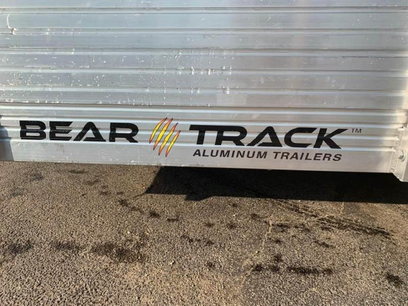 "2020 Bear Track 65"" x 10' w/ BiFold Gate & 2' Solid Sides Utility Trailer"