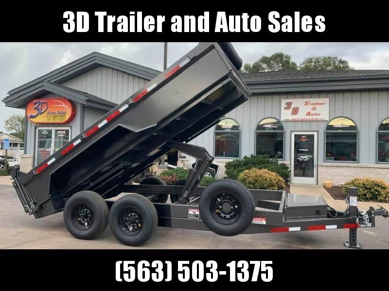 "2020 Travalong 82"" X 14' 14K Commercial Dump Bed Trailer"