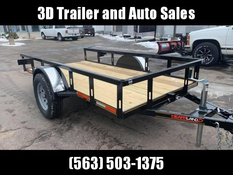 2020 Heartland 5 x 10' Tilt Bed Utility Trailer 3500lb GVWR
