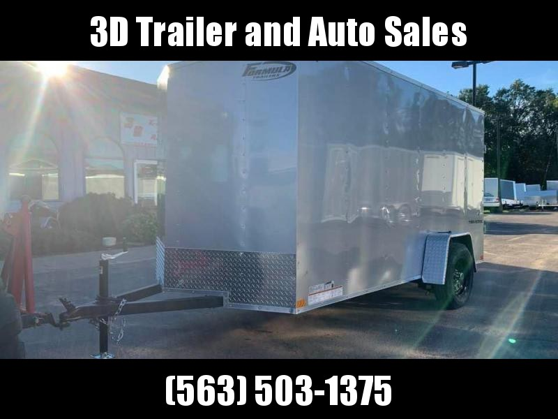 2020 Formula 6' x 12' x 6' Traverse Enclosed Cargo Trailer