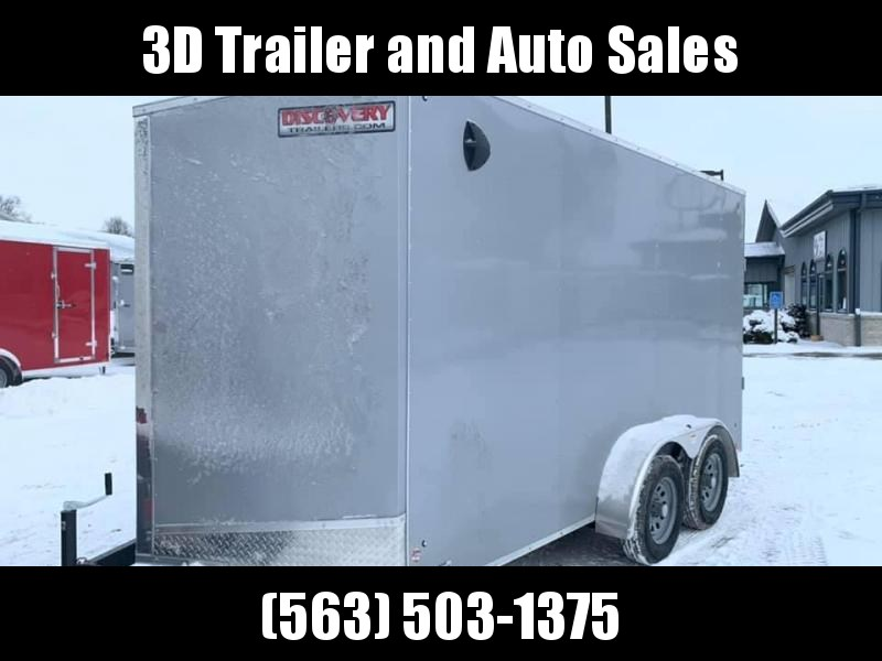 2020 Discovery 7' x 14' x 7' Rover ET Enclosed Trailer w/ Ramp