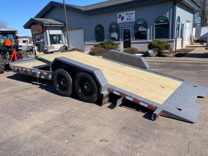 2020 Midsota TB 22' 17600LB GVWR Tilt Bed Equipment Trailer