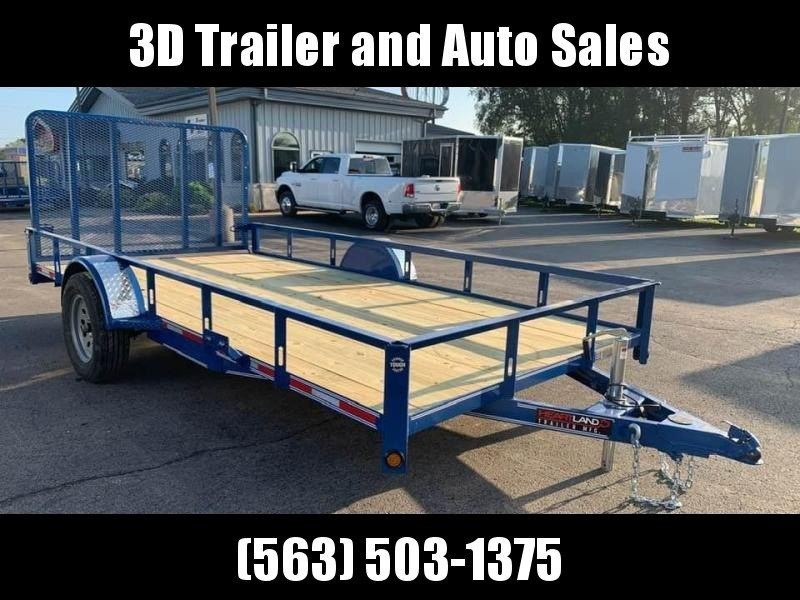 2020 Heartland 7' x 14' ATV TRAILER w/ 4' Gate Open Utility Trailer