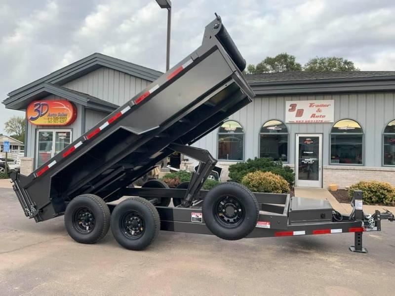 "2020 Travalong 82"" X 14' 14K Commercial Dump Bed Trailer"