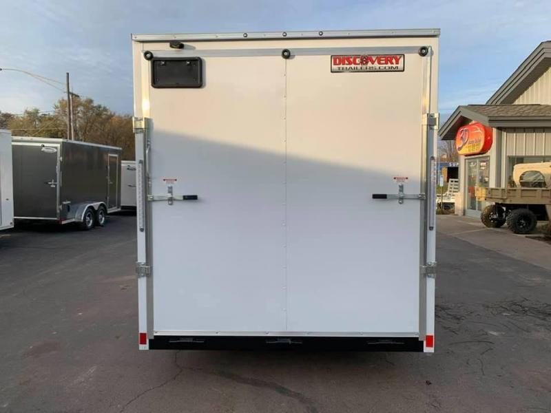 2020 Discovery 7' x 16' x 7' Rover ET Enclosed Trailer w/ Ramp