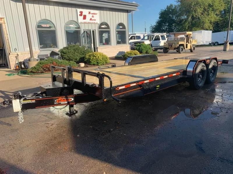2020 Chase Trailers 22' 14K Split Deck Tilt Bed Equipment Trailer
