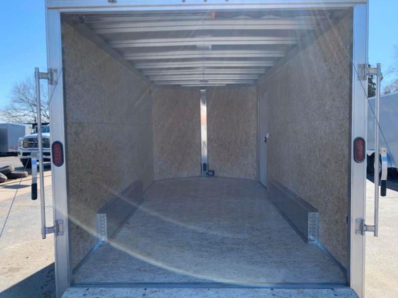 "2019 CargoPro 7.5' x 14' x 6'10"" Stealth Extra Tall Aluminum Cargo Enclosed Trailer w/ Ramp Door"