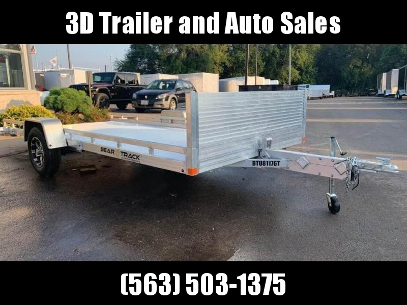 """2020 Bear Track 81""""X14.5' Tilt Bed Utility Trailer"""