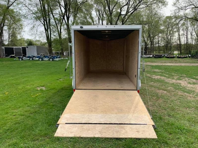 2019 USED Discovery 7' x 14' x 6'6 Rover ET Enclosed Trailer w/ Ramp