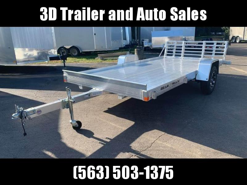 2020 Bear Track 80 X 14 All Aluminum Utility Trailer w/ Bifold Utility Trailer
