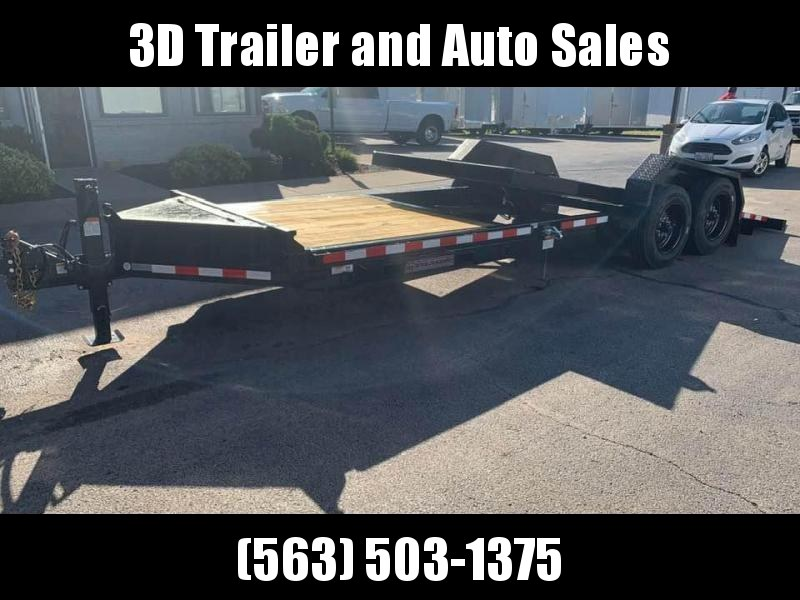 2020 Midsota TB 22' 17600LB GVWR Tilt Bed Equipment Trailer
