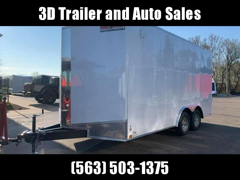 2021 Discovery 8.5' X 16' X 7' 7K CHALLENGER ET RAMP DOOR ENCLOSED CARGO TRAILER