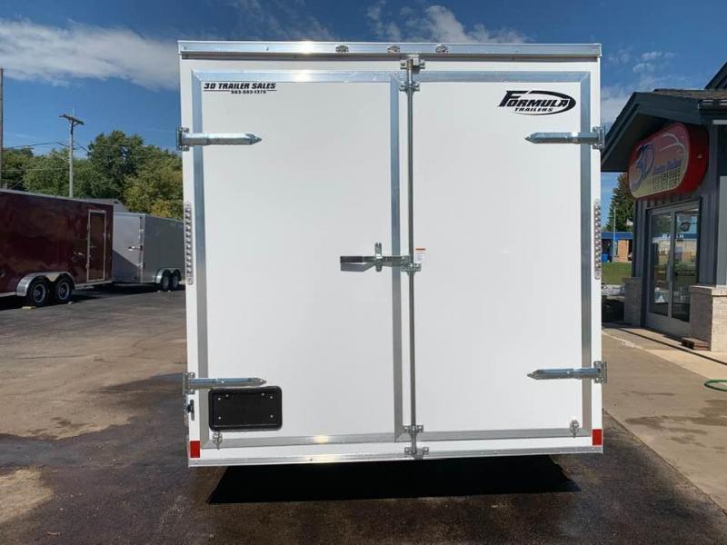 "2020 Formula 7' x 14' x 6'6"" 7k Triumph Contractor Enclosed Trailer w/ Barn Doors"