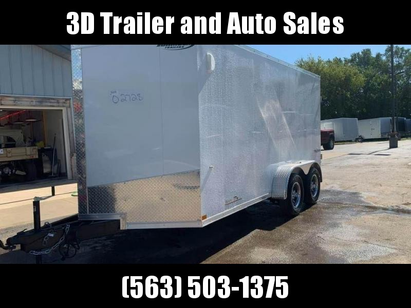 "2020 Formula 7' x 14' x 6'6"" 7k Triumph Contractor Enclosed Trailer w/ Barn Doors"