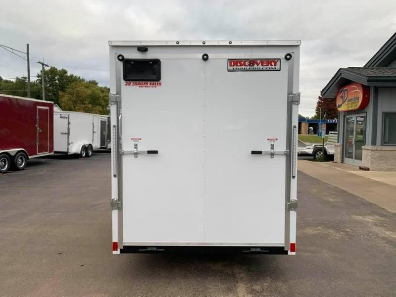 """2020 Discovery Trailers 6 X 12' X 6'6"""" ROVER ET ENCLOSED CARGO TRAILER Enclosed Cargo Trailer"""