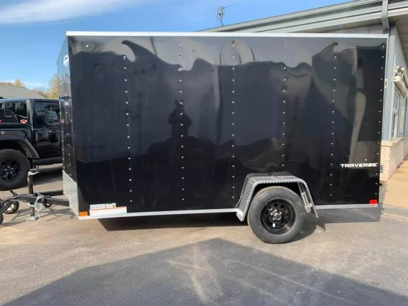 2020 Formula 6' x 12' x 6'6 Traverse Enclosed Cargo Trailer