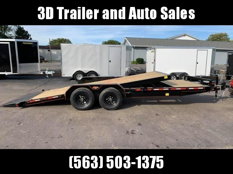2020 Chase Trailers 22' 10K Split Deck Tilt Bed Equipment Trailer