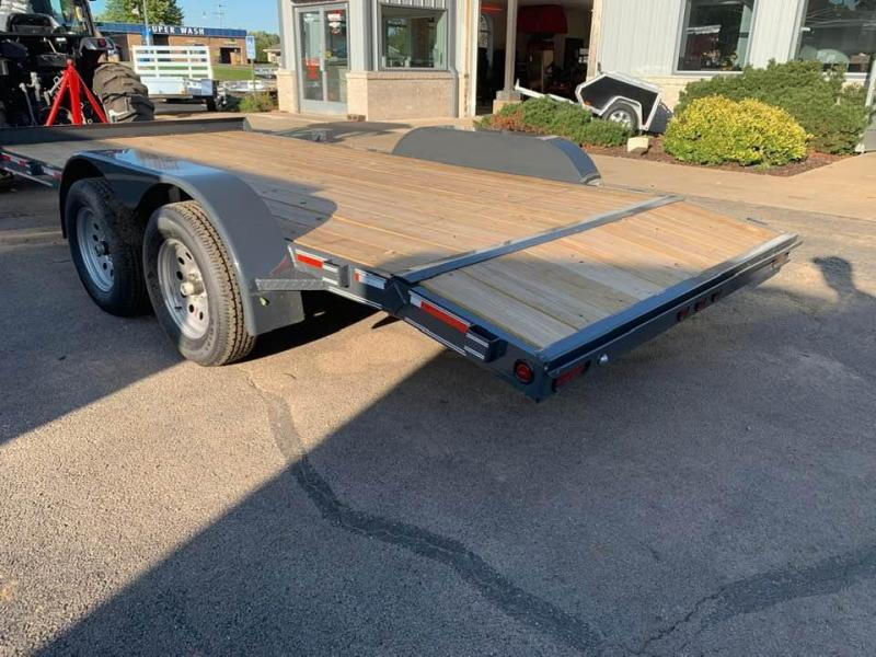 2020 Heartland 16' 7K GVWR Flat Bed Car Trailer