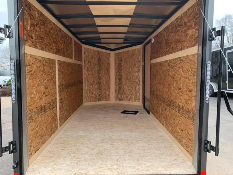 2021 IMPACT 6' x 12' x 6' QUAKE BLACKOUT PACKAGE  Enclosed Cargo Trailer