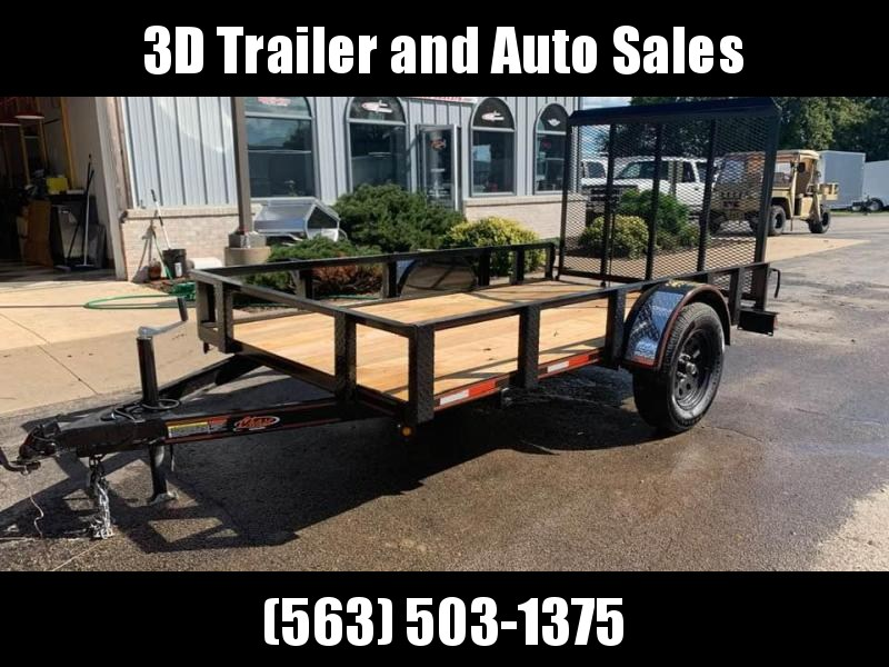 2020 Chase Trailers 5.5' x 10' Open Utility Trailer w/ 4' Assisted Gate