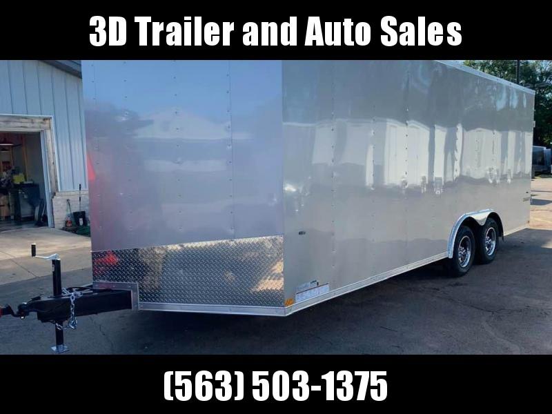 2020 Formula Trailers 8.5 x 20 x 7' 7k Conquest Car Trailer Enclosed Cargo Trailer