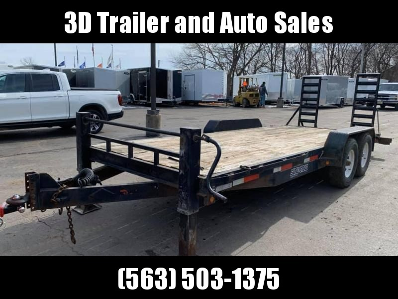 2009 Sure-Trac  20' 14000lb GVWR Equipment Trailer