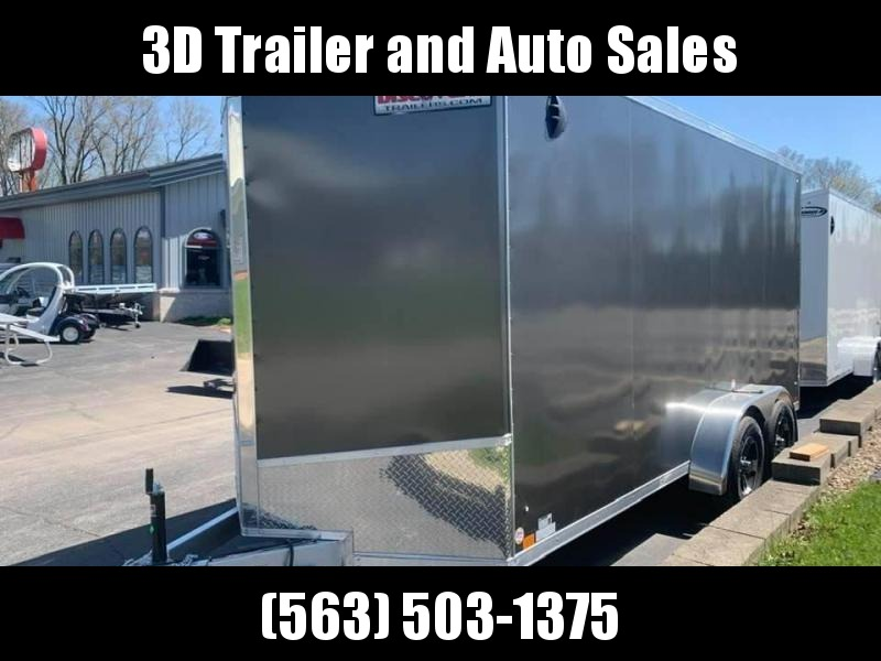 2021 Discovery 7' x 16' x 7'  ALUMINUM ENDEAVOR UTV PKG Enclosed Trailer w/ Ramp