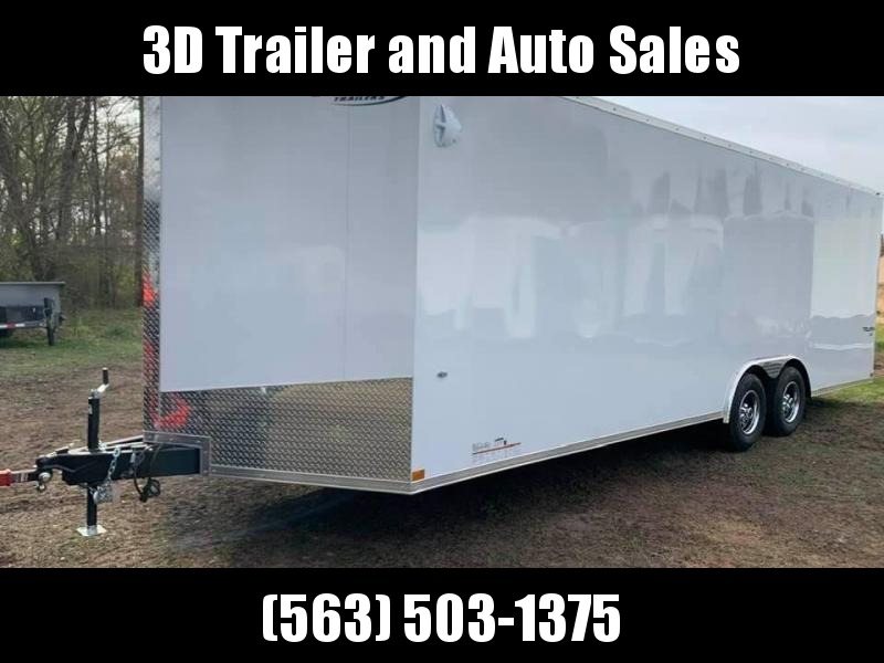 2020 Formula 8.5' x 24' x 7' 10k Triumph Enclosed Car Trailer