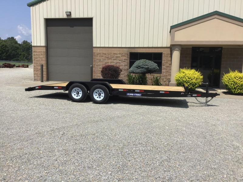 2019 Sure-Trac 7' X 20' Wood Deck Car Hauler 10k