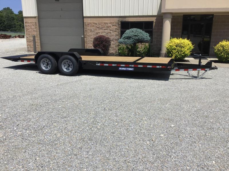 2020 Sure-Trac 82 x 18+4 Tilt Bed Equipment 14K Equipment Trailer