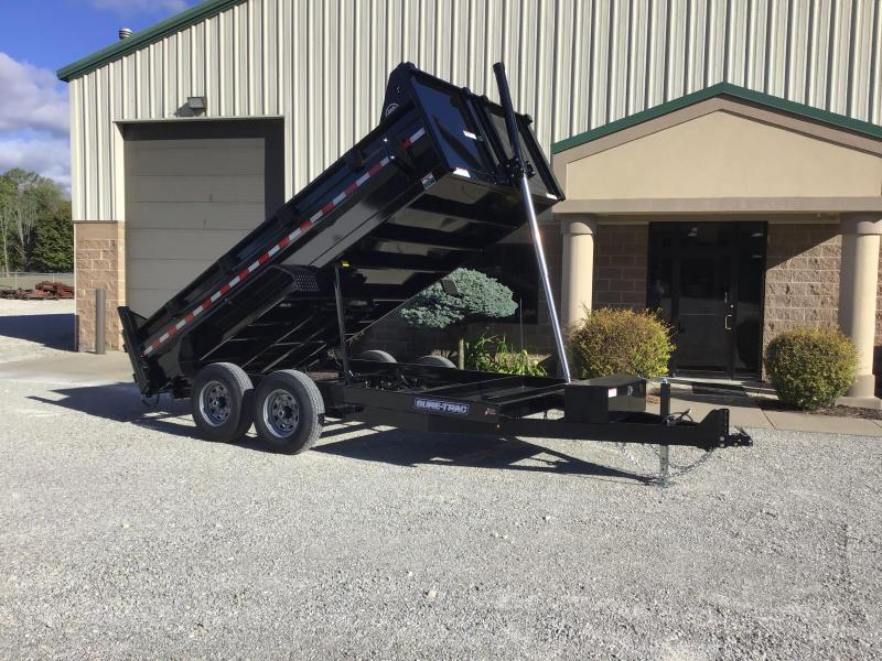 2020 Sure-Trac 82x14 14K HD Low Profile Dump (Telescopic) Dump Trailer