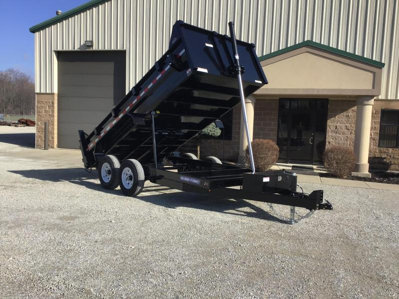 2020 Sure-Trac 82x12 12K HD Low Profile Dump (Telescopic) Dump Trailer