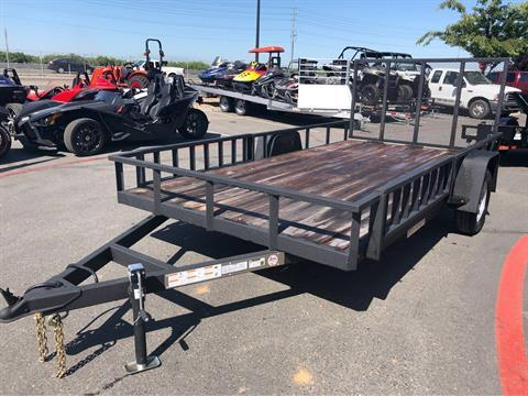 2018 Charmac Trailers 12' X 6' RUGGED UTILITY TRAILER