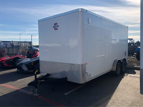 2020 Charmac Trailers 16' X 7.6' STEALTH CARGO TRAILER