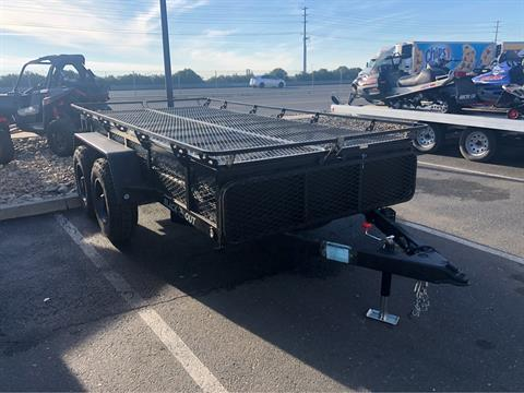 2020 Jumping Jack 6 X 12 BLACKOUT TRAILER W/ 12' TENT