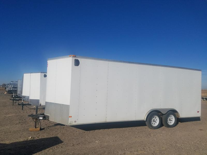 2013 Wells Cargo 8.5' x 20' Enclosed Cargo Trailer