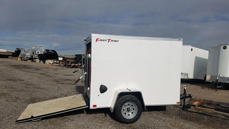 2020 Wells Cargo FT 5' x 8' Enclosed Trailer