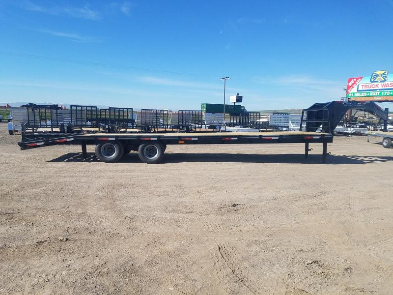2019 Custom Built Gooseneck 35' Equipment Trailer