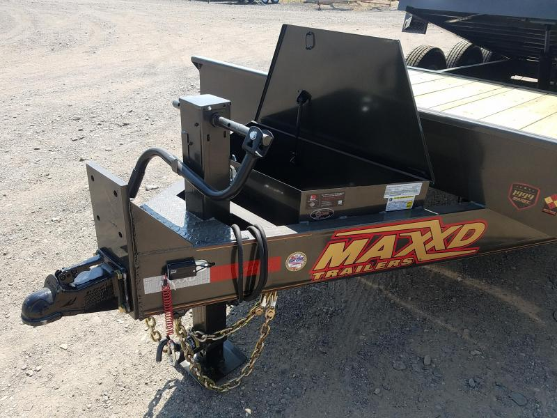 2020 Maxxd Trailers 24 Gravity Tilt Triple Axle Equipment Trailer