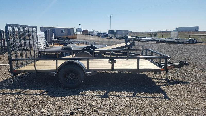 "2020 MAXXD 77"" x 14' Rear Ramp Utility Trailer"