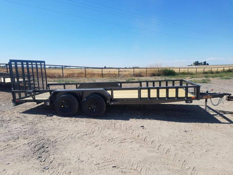 2020 MAXXD 7'x18 Side and Rear Load Utility Utility Trailer