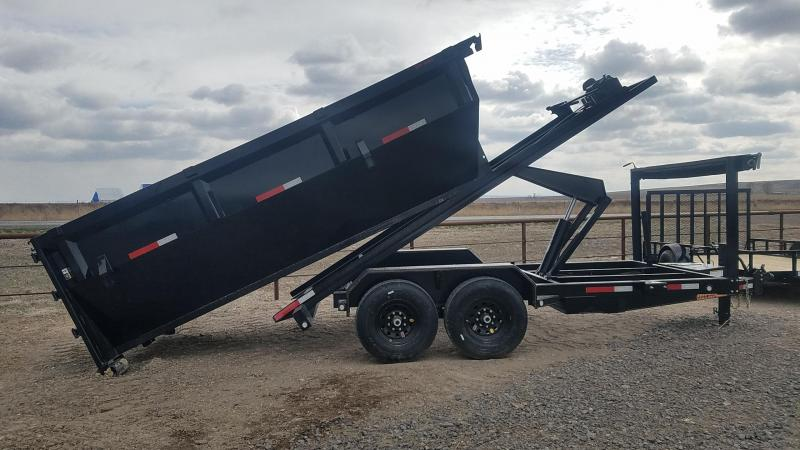 2020 MAXXD Roll-Off 7' x 14' Dump Trailer