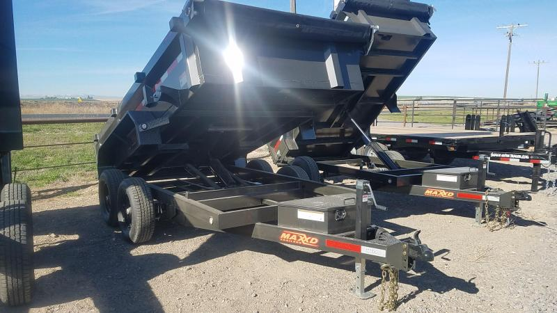 2020 MAXXD 6x12 Dump Trailer 10K
