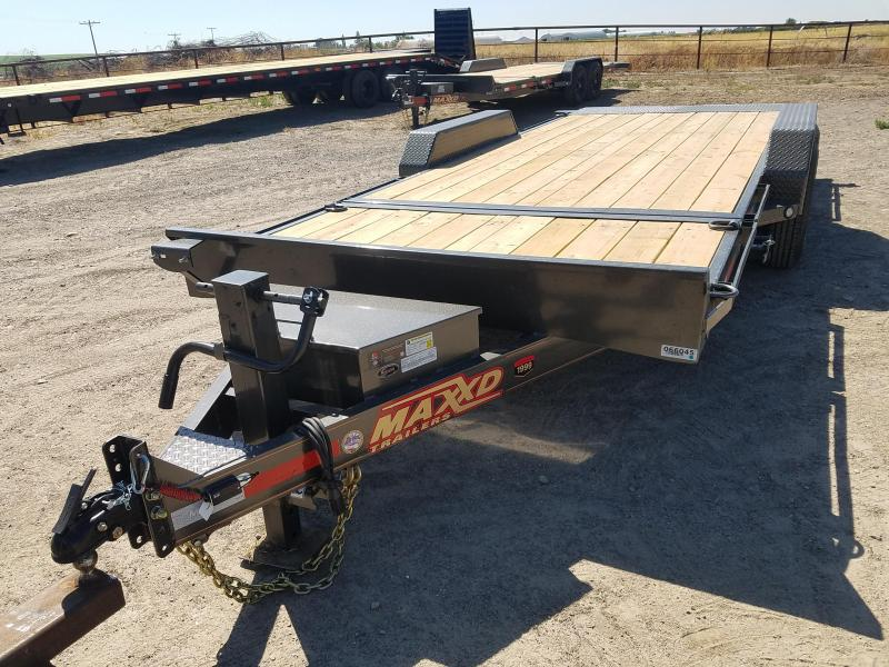 2019 Maxxd Trailers 7'X 20' Gravity Tilt Equipment Trailer