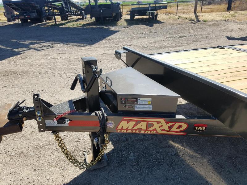 2020 MAXXD 7'X22' Gravity Tilt 14K Equipment Trailer
