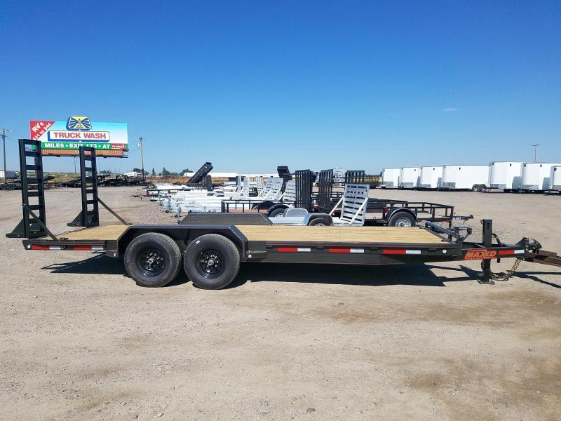2020 MAXXD 7X20 X 14000 GVWR Equipment Trailer