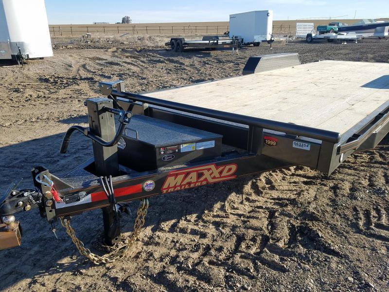 """2020 MAXXD 83"""" x 20' 14000# GVWR Equipment Trailer"""