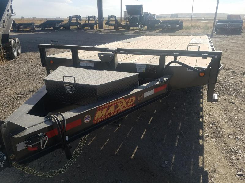 2019 Maxxd Trailers 8 X 20 x 14K Deckover Equipment Trailer
